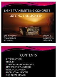 Light Transmitting Concrete Lighttransmitting Concrete Optical Fiber Fibers