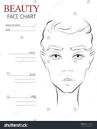 Judicious Makeup Artist Face Chart Face Chart Book Pad For