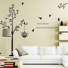 home wall stickers black sofa bedroom