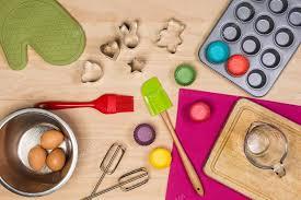 colorful kitchen utensils. Interesting Kitchen Colorful Kitchen Utensils On Wooden Background U2014 Photo By Lostation Throughout Kitchen Utensils G