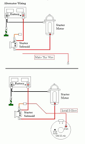 proper grounding locations for starter, alternator and dedicated Battery Starter Alternator Wiring Diagram if any more clarification or photos are needed, just let me know and i'll edit this post thanks everyone ken battery alternator wiring diagram
