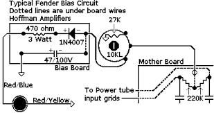 6v6 Bias Chart Bias Circuits