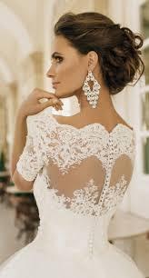 traumhaftes Brautkleid aus Tüll und Spitze, schulterfrei, mit ...