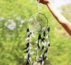 Buy A Dream Catcher Buy Dream Catcher Handcrafted White Black Yin Yang Dream Catcher 85