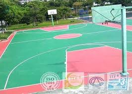 outdoor basketball court surfaces surface paint decorating