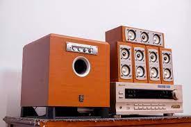 Dàn 5.1 Yamaha kèm amply #DTS... - Hàng Điện Tử cũ giá rẻ