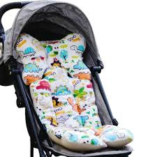 2019 <b>Baby Printed Stroller Pad</b> Seat Warm Cushion Pad Mattresses ...