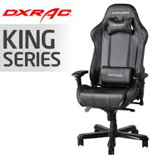 gaming chairs dxracer. Simple Chairs DXRacer King Series Black Gaming Chair  OHKS06N In Chairs Dxracer A