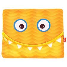 Купить ZIPIT <b>Папка</b>-пенал на молнии Googly Smile для тетрадей ...
