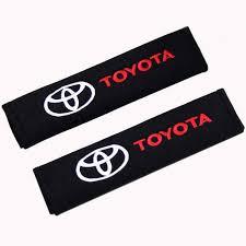<b>2Pcs Cotton Car</b> Brand Logo Shoulder Belt Safety for SEAT TRD ...
