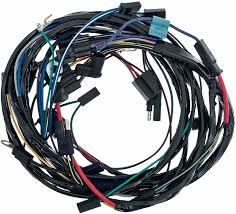 mopar parts electrical and wiring wiring and connectors 1969 barracuda engine front light harness 318 340