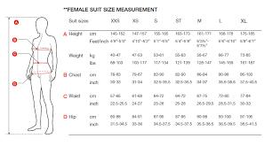 Speedo Women S Size Chart Speedo Womens Fastskin Xenon Full Sleeve Wetsuit 2020