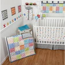 Sumersault Doodles Bright 10-Piece Crib Bedding Set | BabiesRUs ...