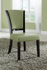green leather dining chair  stealasofa furniture outlet los