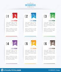 Workflow Design Online Business Infographics Design Vector And Marketing Icon