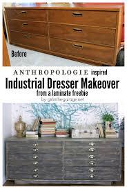 industrial themed furniture. Diy Refurbished Dresser Ideas Anthropologie Inspired Industrial Themed  Furniture Industrial Furniture I