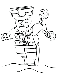 Coloring Pages Police Photo Album Sabadaphnecottage