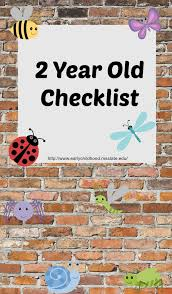 2 Year Old Developmental Milestones Chart Checklist For 2 Year Old Developmental Skills Eddie