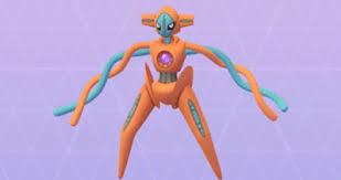 Pokemon Go Deoxys Normal Forme Stats Best Moveset