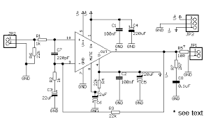 six channel mixer and amplifier circuit diagram the power amplifiers are based on the national lm3886 monolithic power amplifier this is a powerful device it can put out 68w rms into an