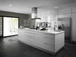 Modern White Cabinet Kitchen Granite Tiarramonet
