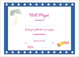soccer awards templates soccer certificate template professional and high quality templates