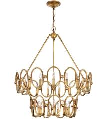 favorite metropolitan n6889 293 clairpointe 24 light 38 inch pandora gold with gold leaf chandelier