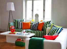 modern colorful furniture. red and green colors colorful decorative pillows white living room furniture modern i