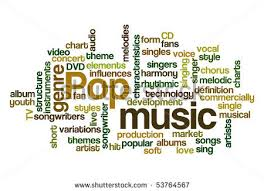 tok  stock vector pop music word cloud 53764567