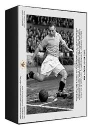 Blackpool FC Legends Stanley Matthews and Stan Mortensen Signed Exclusive  A4 Print Pre-Printed Sports & Outdoors Memorabilia & Collectibles