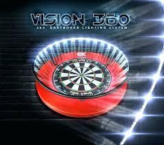 dartboard light fixture dart board