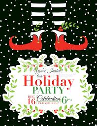 invitation christmas party invitation template best of christmas party invitation template medium size