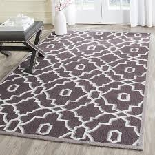 four seasons frs237c dark grey ivory contemporary outdoor rugs by arearugs