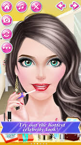 celebrity f fun day makeover spa makeup dress up beauty salon game for
