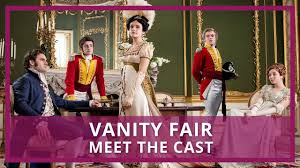 vanity fair itv who s in the cast