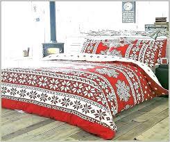 king size flannel comforter red cover duvet cuddl duds 6 piece plaid set flann
