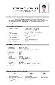 Easy Resume Beauteous Sample Educator Resume Collection Of Solutions Sample Resume For