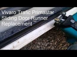 vivaro trafic primastar slide door roller replacement door closing fix