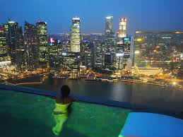Travel Diary Singapore MBS by Night FASHION FERNO
