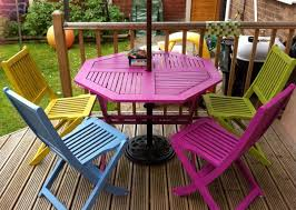 outdoor furniture colors. Colorful Decorations That Will Make Your Garden Look More Fun Outdoor Furniture Colors U