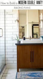 DIY Master Bath Remodel Part 40 Modern Double Bathroom Vanity Fascinating Bathroom Remodel Las Vegas Minimalist