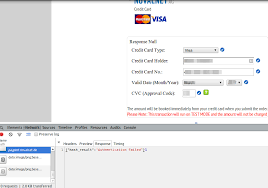 another picture of please enter a valid credit card number