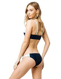 Amazon Com Damsel Color Block Cheeky Bikini Bottoms Clothing