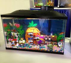 Fun Fish Tank Decorations Similiar Spongebob Fish Tank Keywords