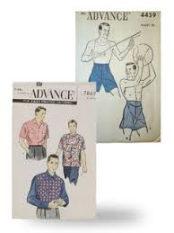 Clothing Sewing Patterns Mesmerizing Vintage Men's Sewing Patterns RustyZipperCom Vintage Clothing On
