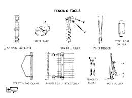 farm fence drawing. Fencing Tools TM - 10 Farm Fence Drawing