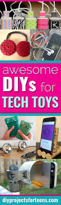 Cool Diy Projects Awesome Diys For Your Tech Toys Diy Projects For Teens
