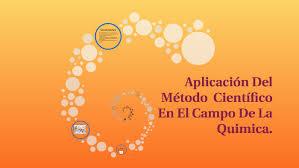 APLICACION DEL METODO CIENTIFCO EN EL CAMPO DE LA QUIMICA by Lizbeth Dayana  Oñate Toledo