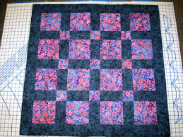 SpinnySpinny » A weekend baby quilt & blue and purple quilt Adamdwight.com