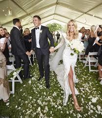 Sam Burgess and Phoebe Hooke's wedding ...